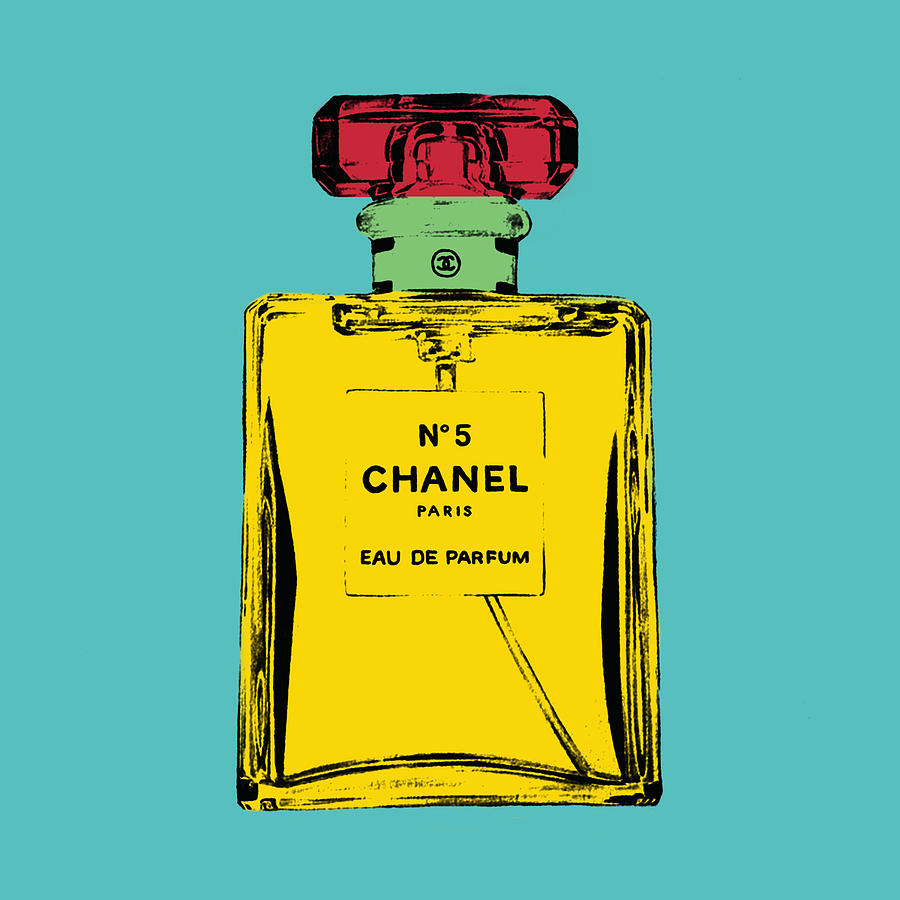 Bottle Photograph - Chnel 2 by Mark Ashkenazi