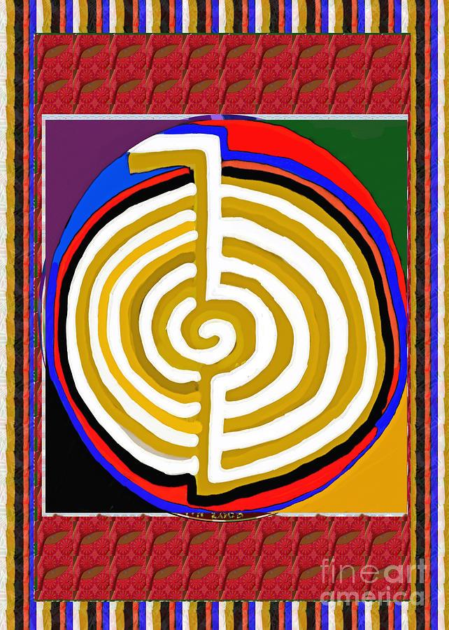 Cho Ku Rei Chokurei Karuna Reiki Healing Symbol Art Buy Posters