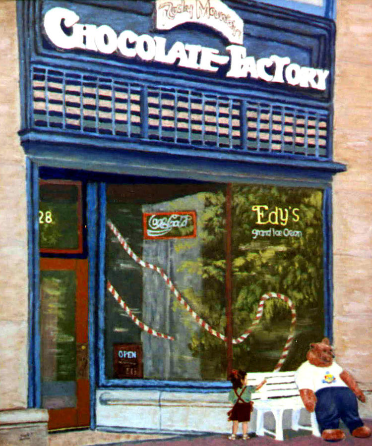 Chocolate Factory Painting - Chocolate Factory by Stan Hamilton