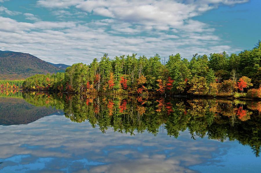 New Hampshire Photograph - Chocorua Lake Reflection by Liz Mackney