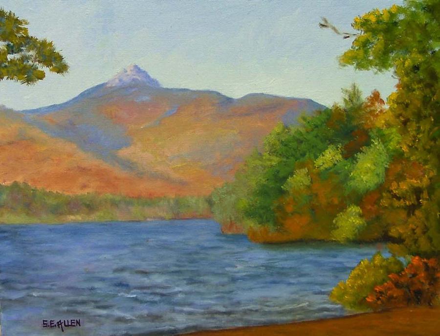 Chocorua Painting by Sharon E Allen