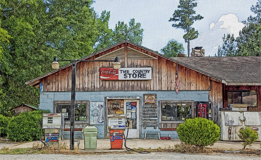 Carlton Photograph - Choctaw Bluff Country Store by Ericamaxine Price