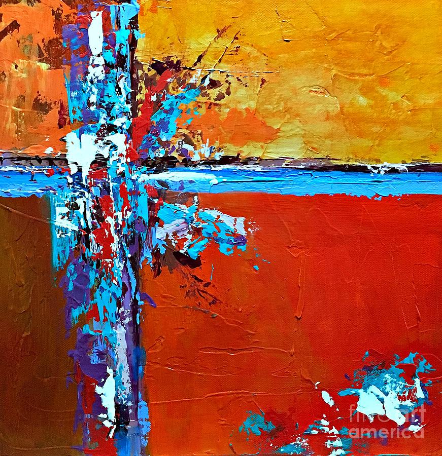 Abstract Expressionism Painting - Choice by Mary Mirabal