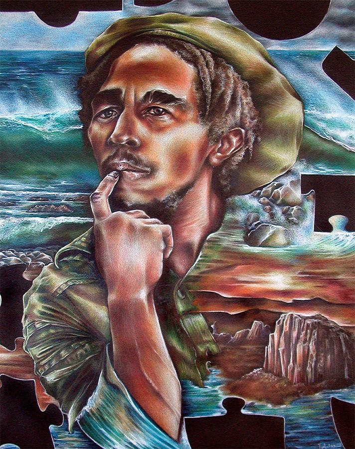 Reggae Painting - Choices by Robert  Nelson