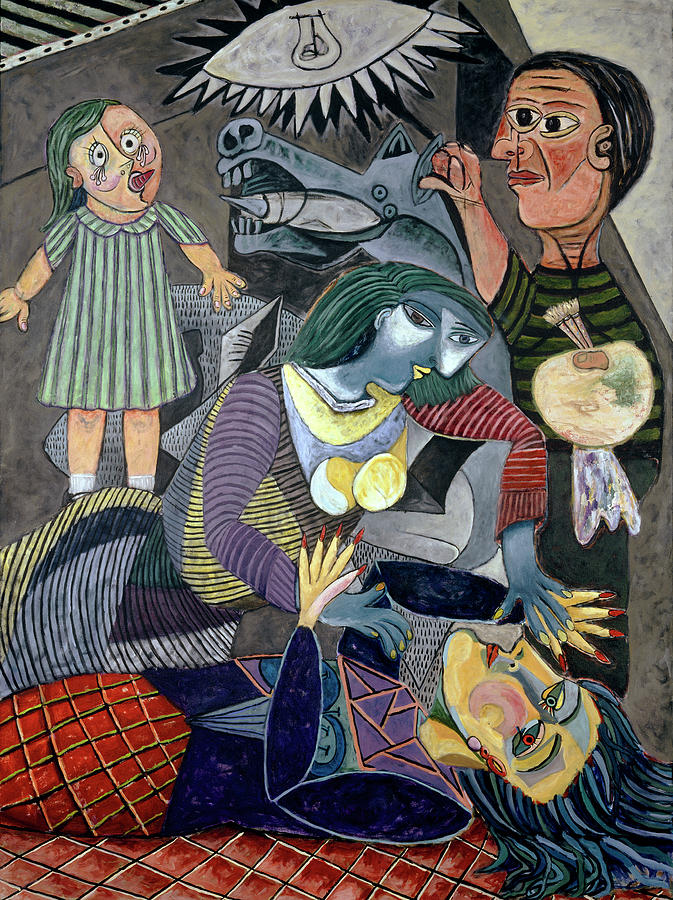 Picasso Painting - Choicest Memories by Pegeen  Shean