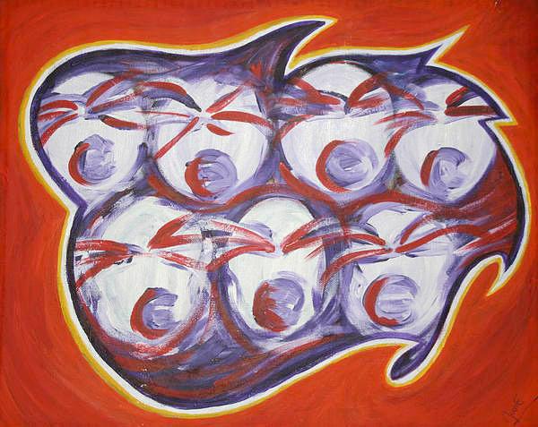 Choir Painting - Choir by Jessica Kauffman