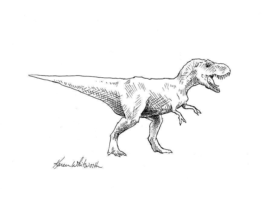 Tyrannosaurus Rex Dinosaur Trex
