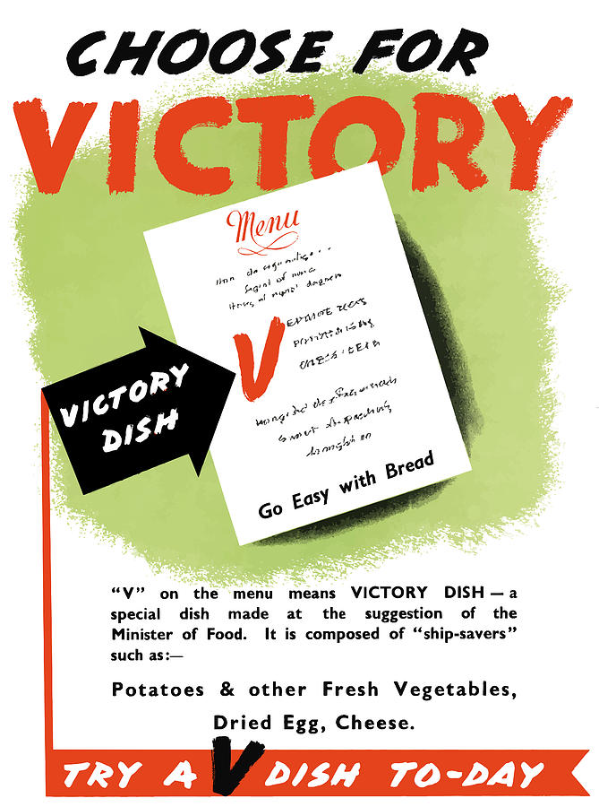 Choose For Victory -- Ww2 Painting