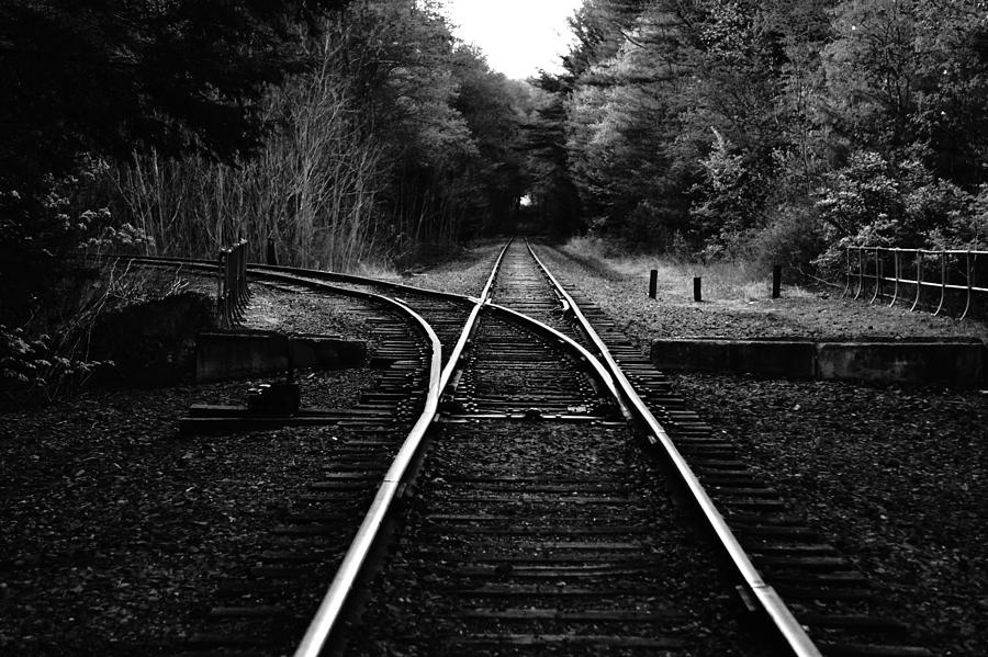 Train Photograph - Choosing Your Path by Stephane Poncelet