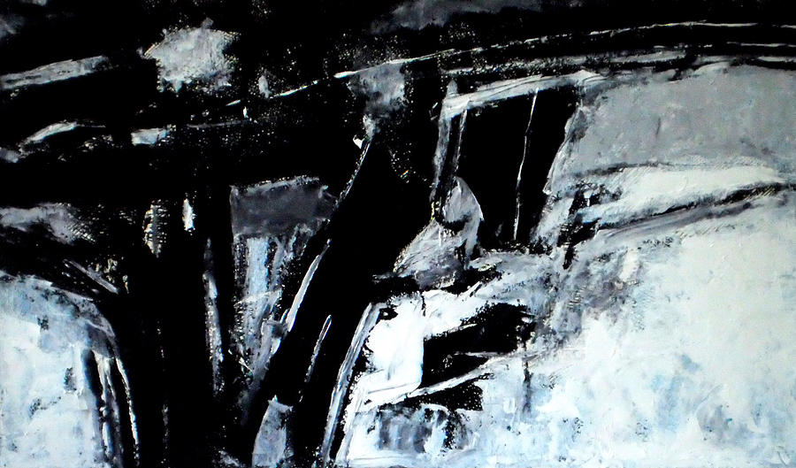 Abstraction Painting - Chopin Nocturne by Vladimir Vlahovic