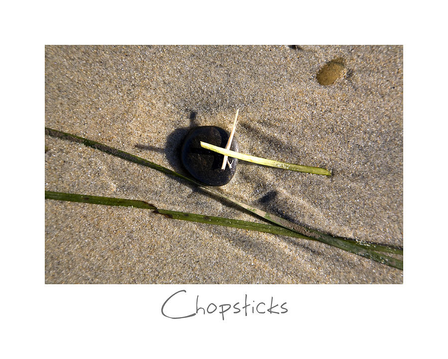 California Photograph - Chopsticks by Peter Tellone
