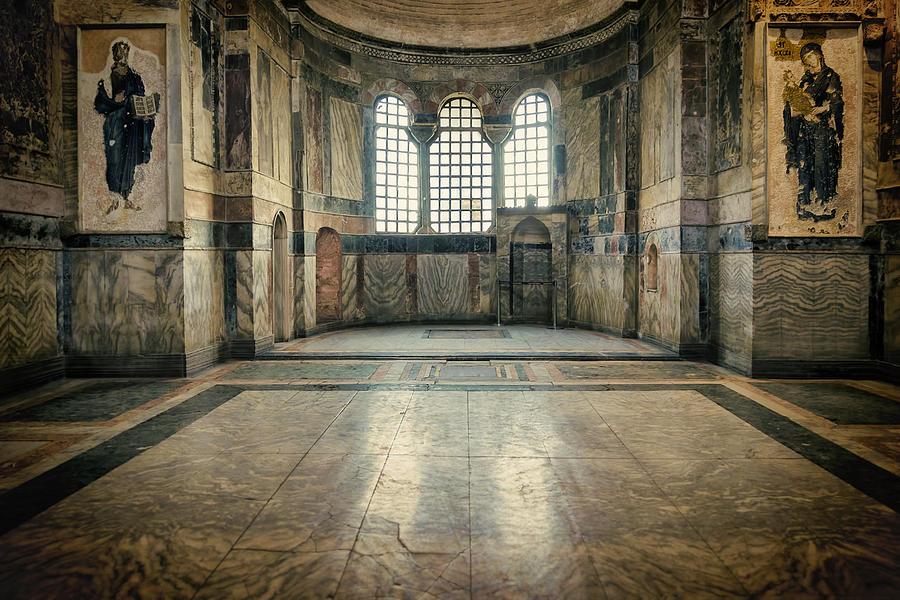 Ancient Photograph - Chora Nave by Joan Carroll