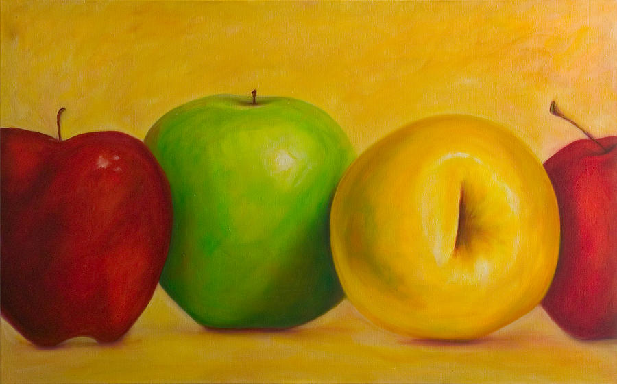 Still Life Painting - Chorus Line by Shannon Grissom