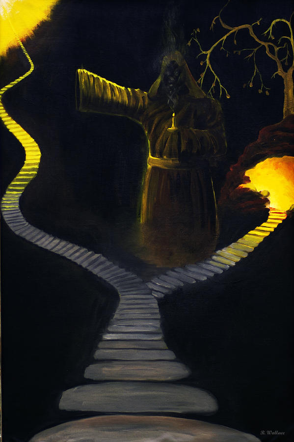 2d Painting - Chosen Path by Brian Wallace