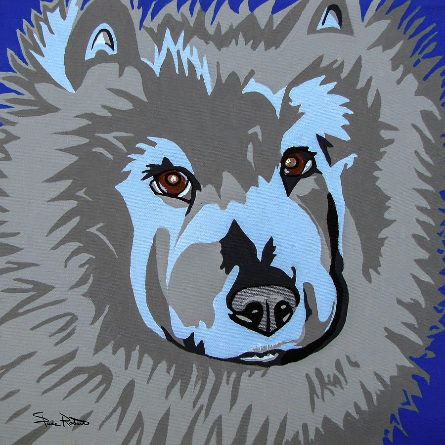 Chow Painting - Chow Chow by Slade Roberts