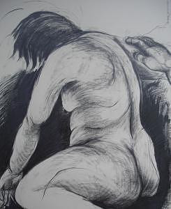 Chowhound Consolation Drawing by Hyon Joo Kim