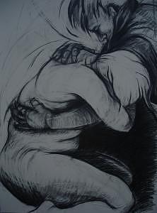 Chowhound Separation Drawing by Hyon Joo Kim