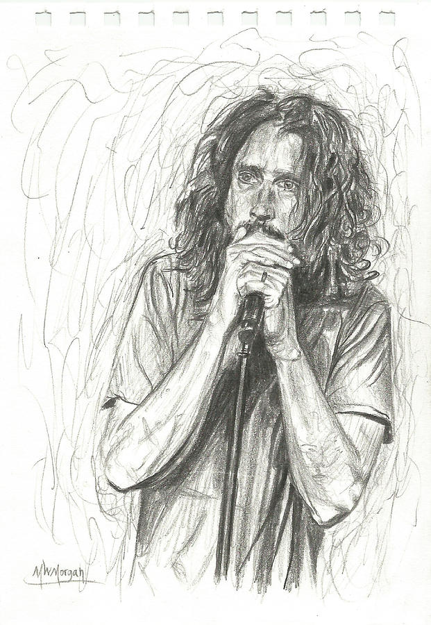 Chris Cornell by Michael Morgan