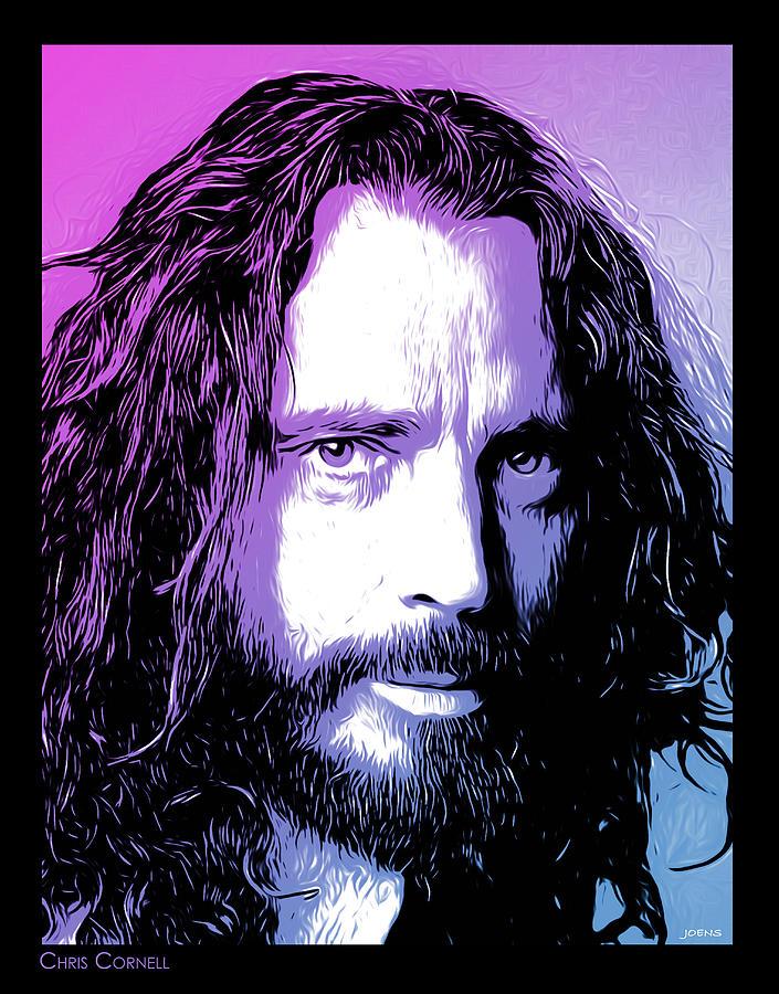 Chris Cornell Tribute Digital Art