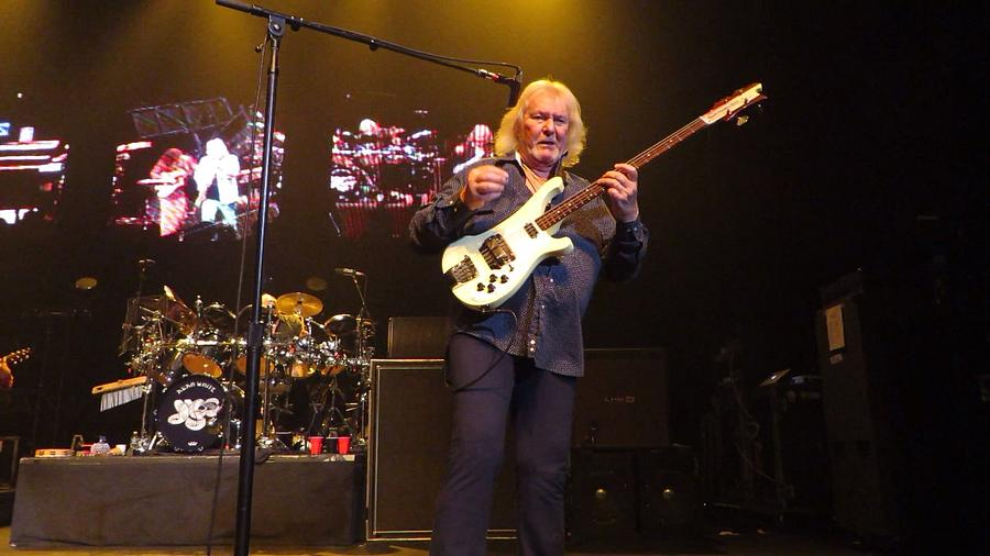 Chris Squire  -yes Photograph by R Kratz