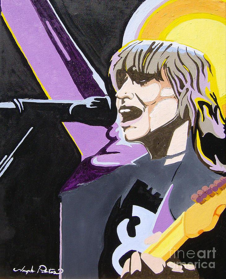 Pop Art Painting - Chrissie Hynde  by Joseph Palotas