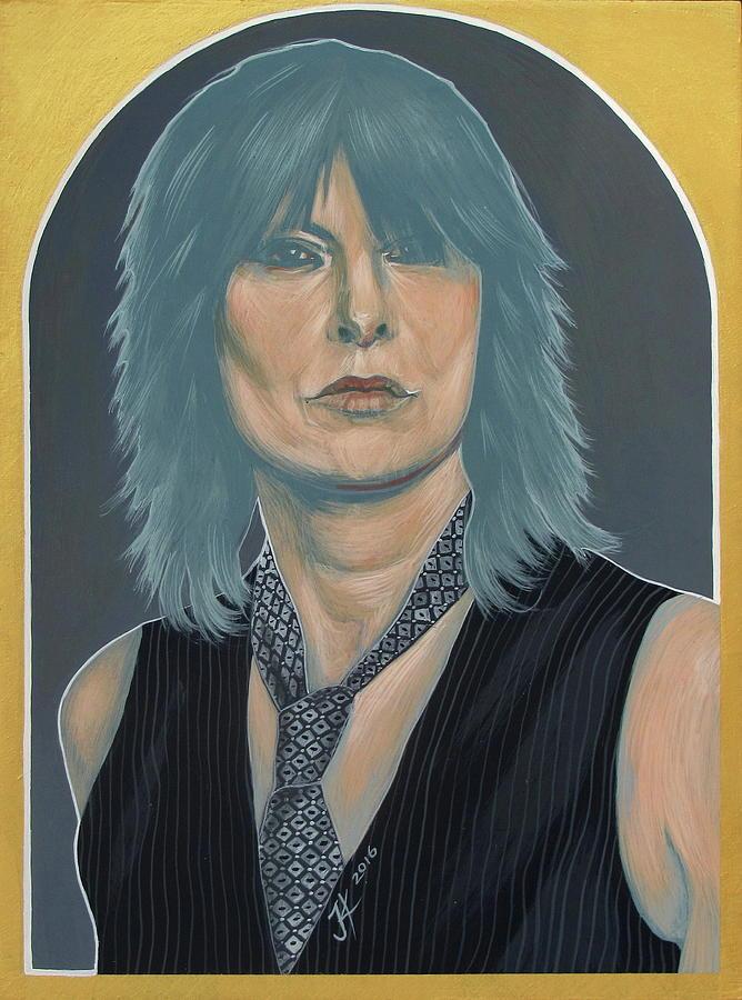 Chrissie Hynde Painting - Chrissie Hynde by Jovana Kolic
