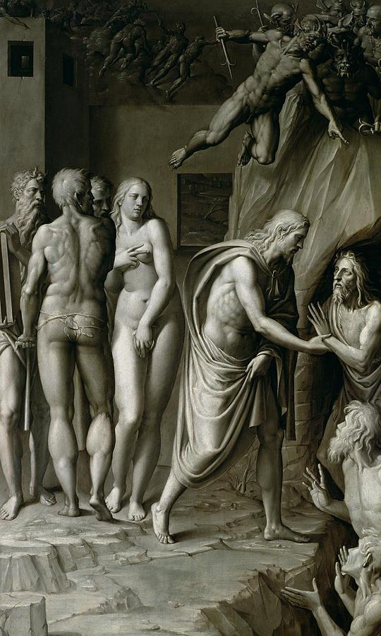 Christ In Limbo Painting - Christ In Limbo by Italian School