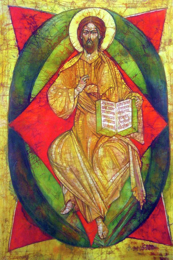Fine Art Painting - Christ In Majesty I by Tanya Ilyakhova