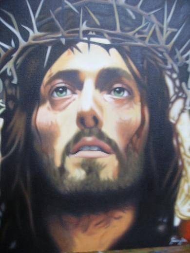 Religion Painting - Christ by Luis  Jesus