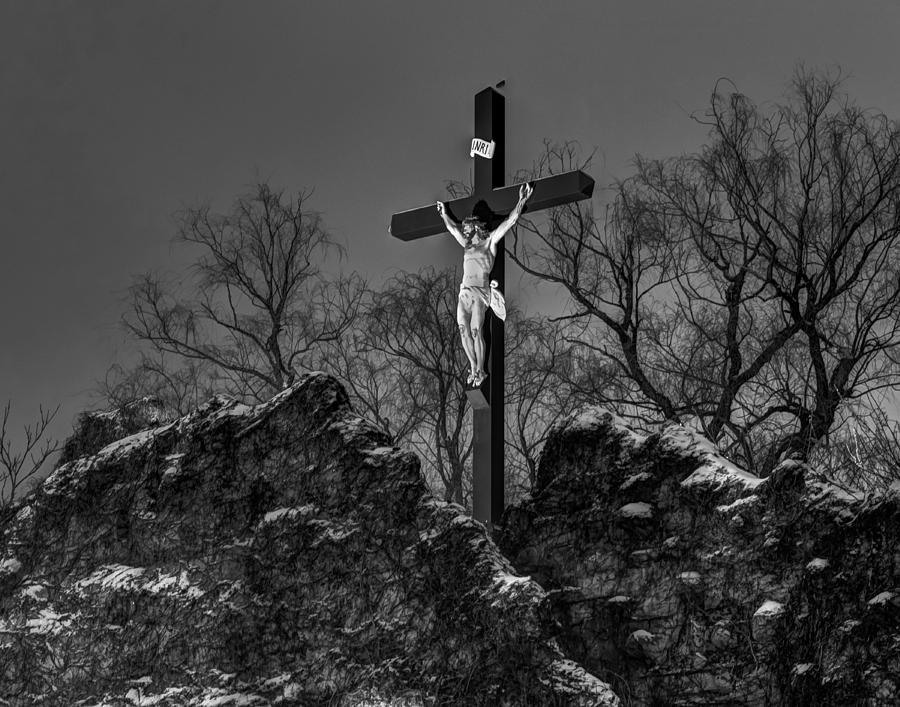 Christ On The Cross 002 Photograph