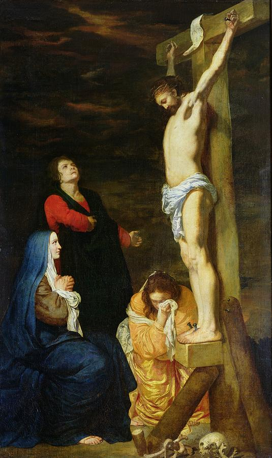 Christ Painting - Christ On The Cross by Gerard de Lairesse
