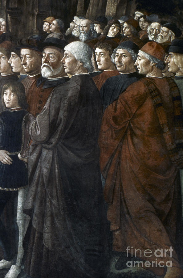 15th Century Painting - Christ, Peter And Andrew by Granger