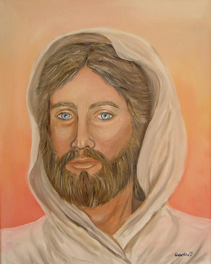Christ Painting - Christ by Quwatha Valentine