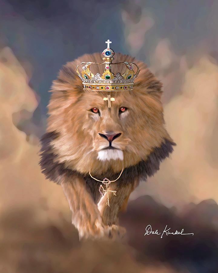 Christian Wall Decor - Lion of Judah - Dale Kunkel Christian Art