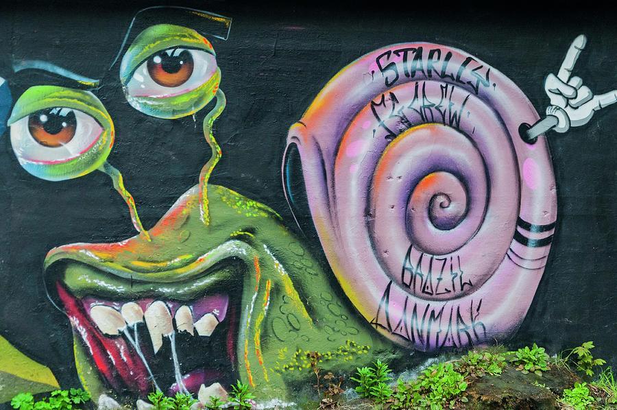 Christiania Mural by Rob Hemphill
