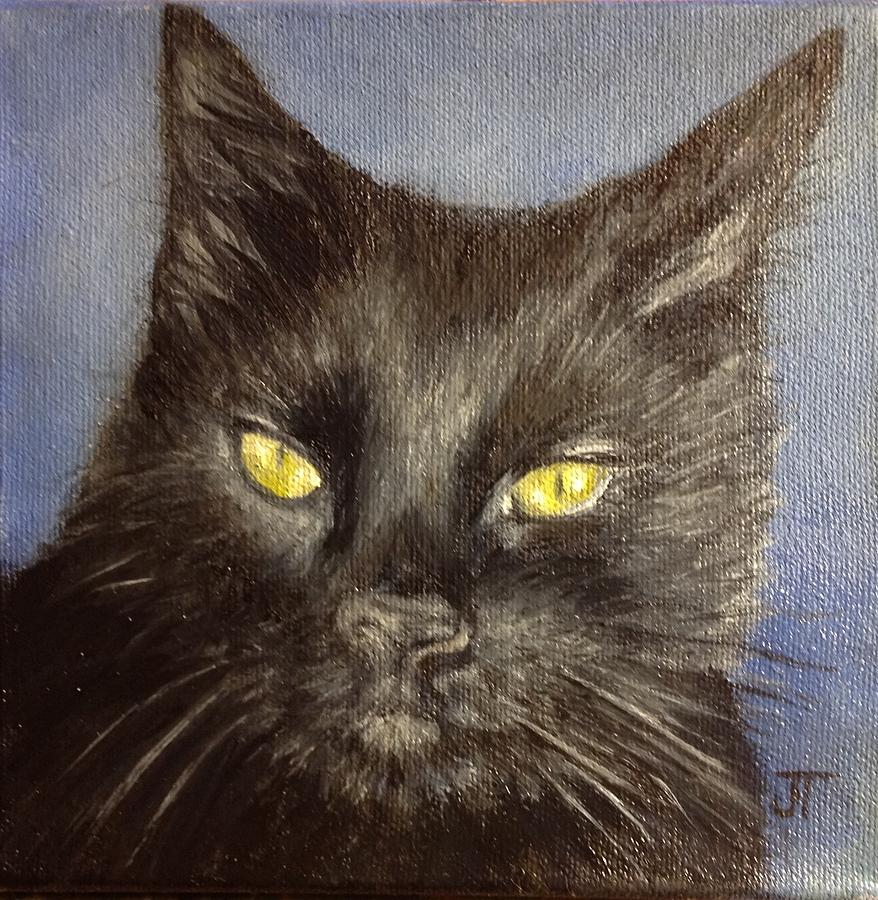 Christine's Cat by Jeannette Tramontano