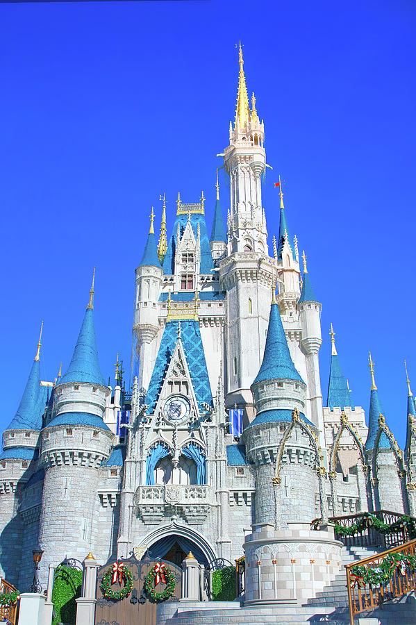 Cinderella Castle Christmas.Christmas At Cinderella Castle By Mark Andrew Thomas