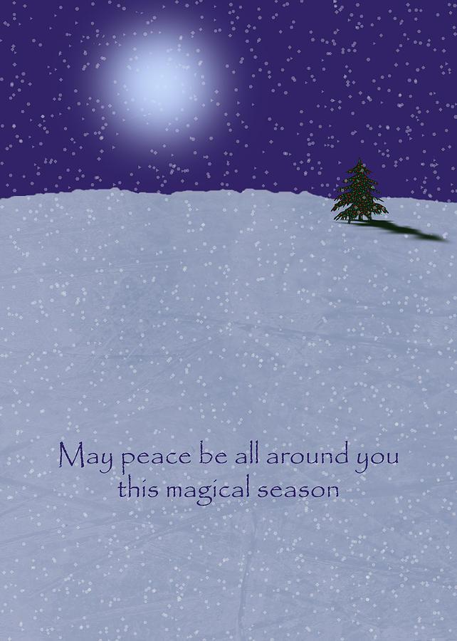 Christmas Card Digital Art
