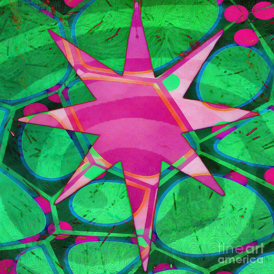 Christmas Celebration Abstract Painting Painting