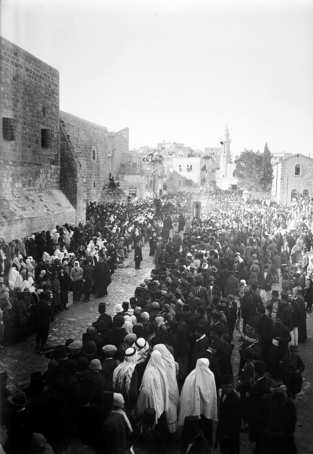 Bethlehem Photograph - Christmas Celebration5 by Munir Alawi
