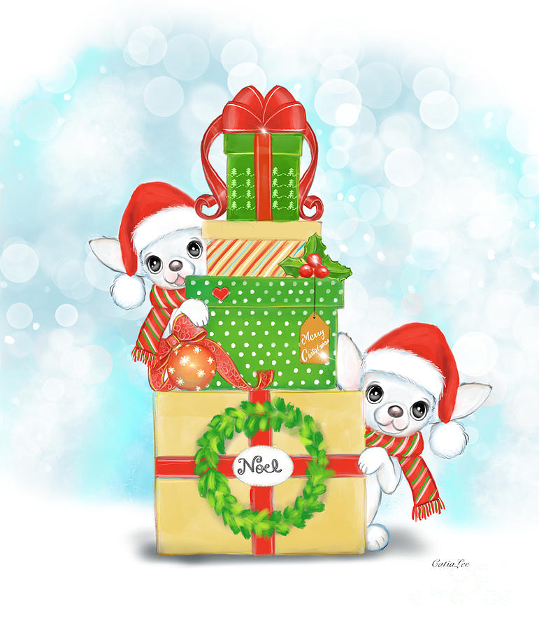 Christmas Chi Elves by Catia Lee