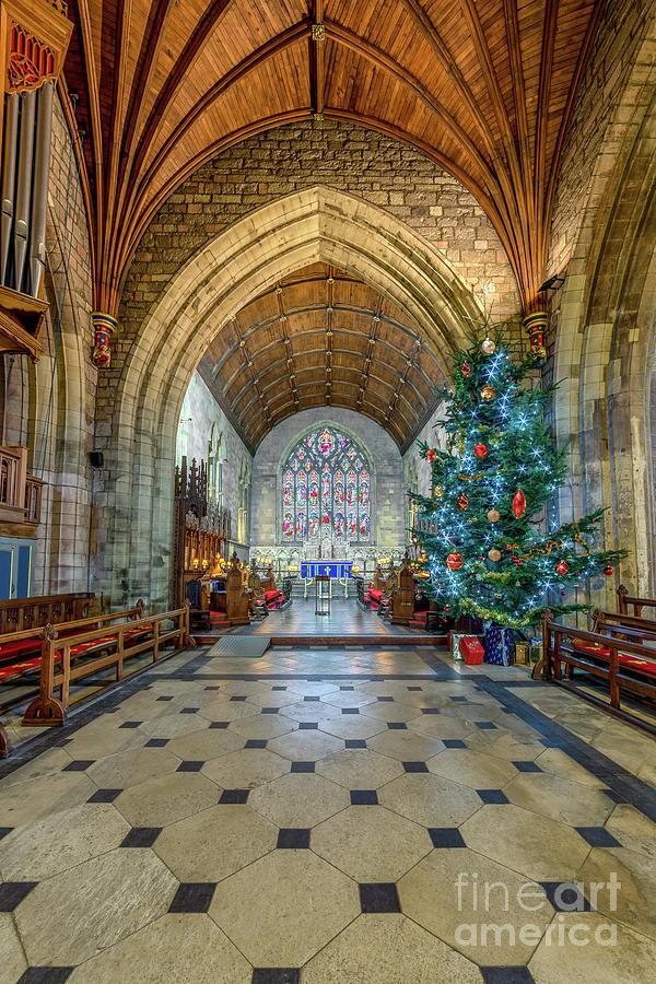 Christmas Photograph - Christmas Church by Adrian Evans