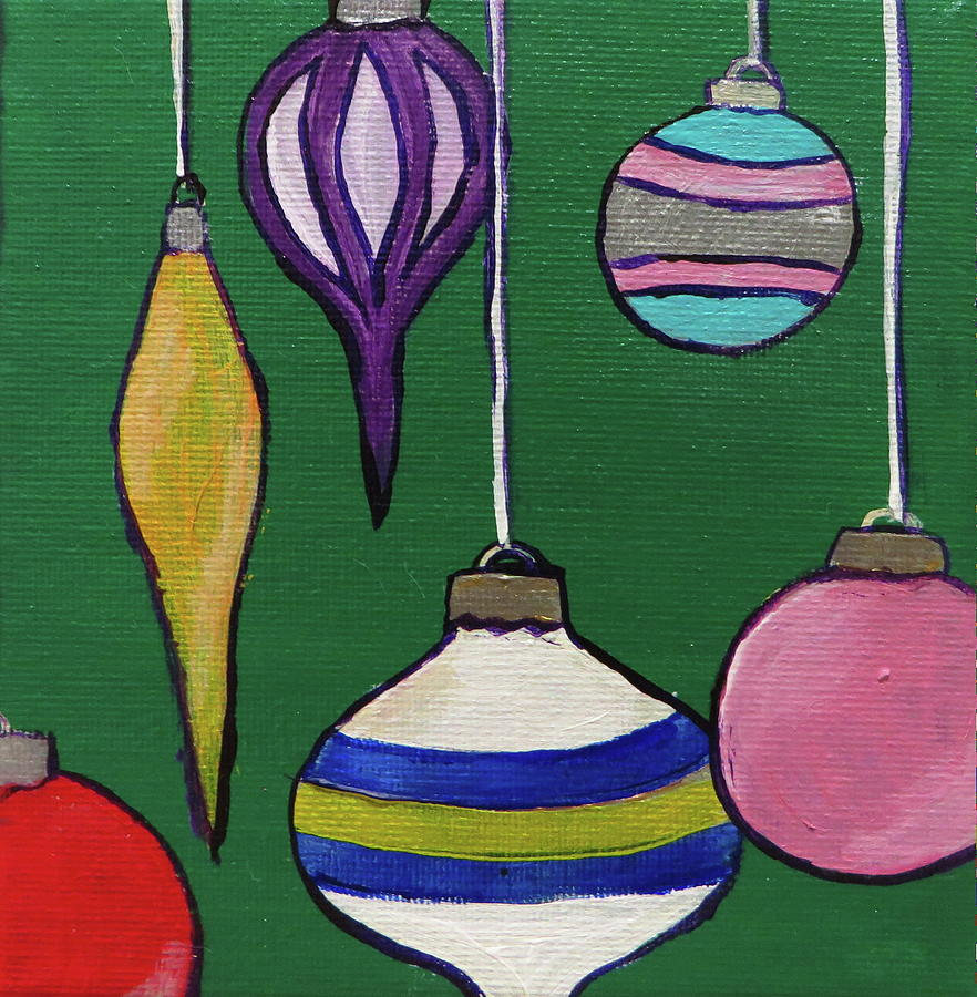 Christmas Decorations 1 by Andrea Cole