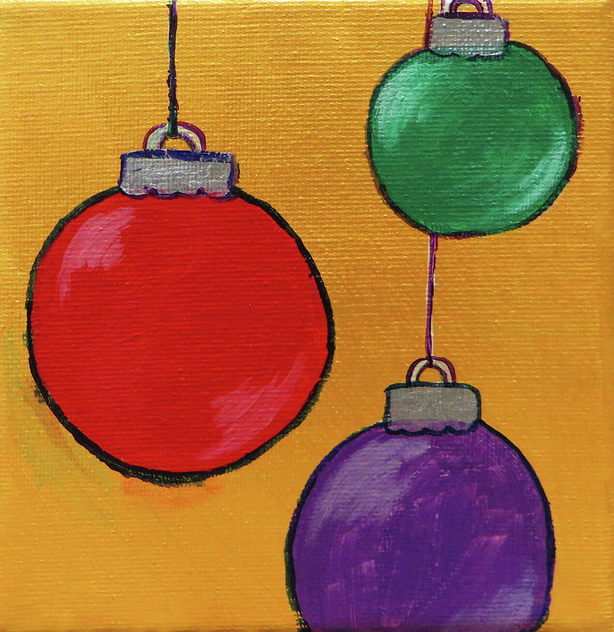 Christmas Decorations 3 by Andrea Cole