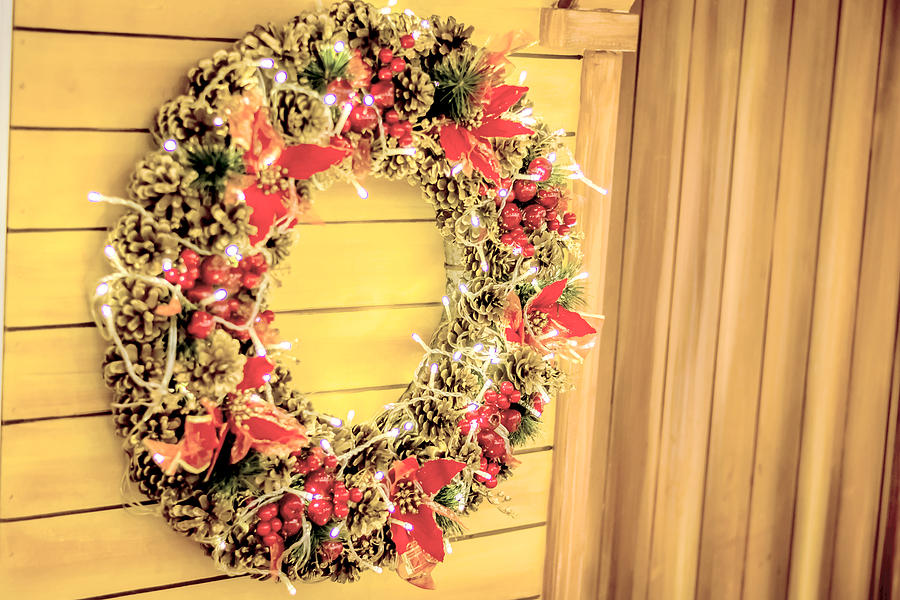 Christmas Photograph - Christmas Decorations by Jijo George