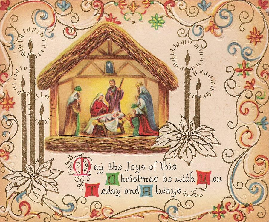 Christmas Wishes Card.Christmas Greeting Card 25 A Christmas Prayer Infant Jesus