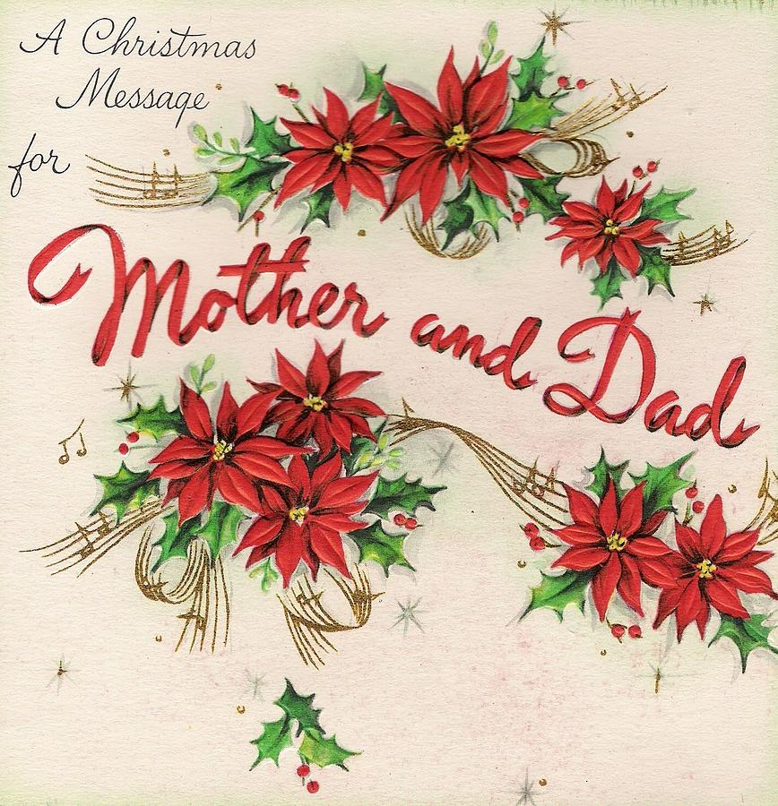 Christmas greetings 360 christmas wishes for mother and dad flowers painting christmas greetings 360 christmas wishes for mother and dad by tuscan afternoon m4hsunfo