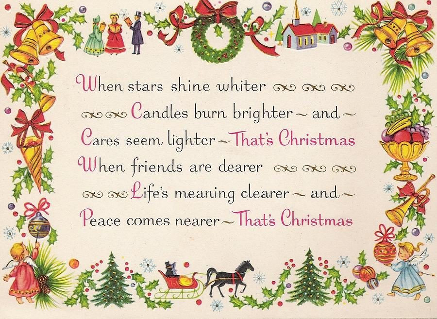 Christmas Greetings Quotes.Christmas Greetings 948 Vintage Chrisrtmas Cards Christmas Quotes