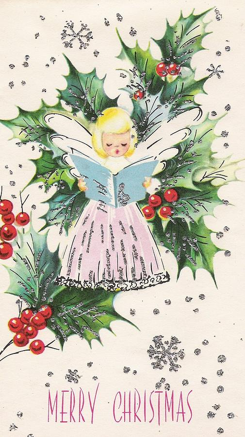 foto de Christmas Greetings 994 - Vintage Chrisrtmas Cards - Baby Angel ...