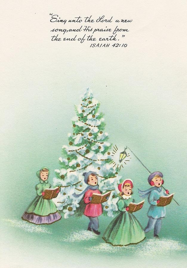 foto de Christmas Illustration 1155 - Vintage Christmas Cards - Noel ...